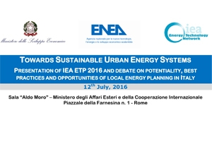 Towards Sustainable Urban Energy Systems
