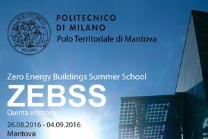 ZEBSS - ZERO ENERGY BUILDINGS SUMMER SCHOOL