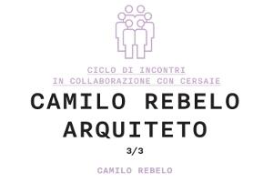 Camilo Rebelo ESPERIENZE DI ARCHITETTURA CONTEMPORANEA