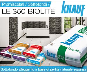 Premiscelati Knauf LE 350 Biolite