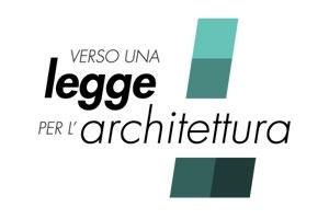 Verso una legge per l'architettura