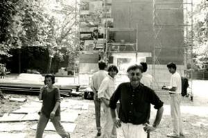 Gli 'Archi' di Aldo Rossi per la 3. Mostra Internazionale di Architettura 1985