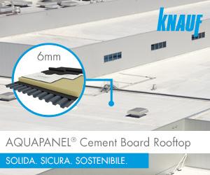 AQUAPANEL Cement Board Rooftop